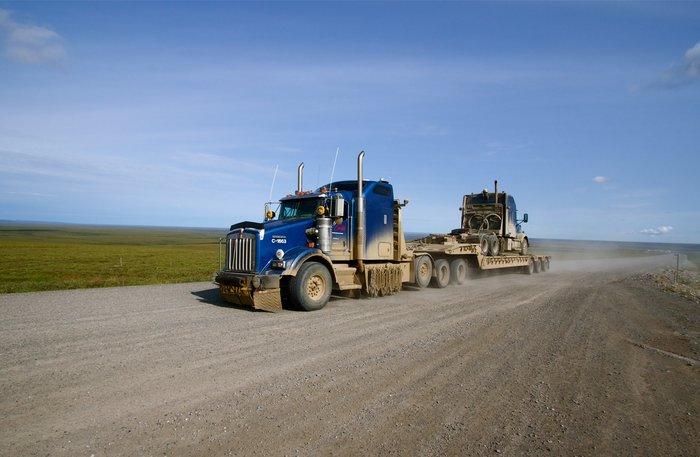Camión en la Dalton Highway