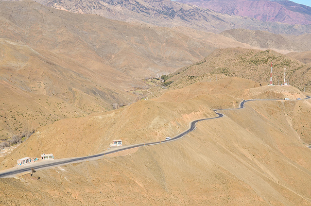 Vista aerea de Tizi'tichka
