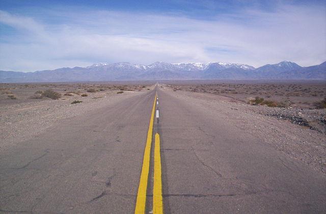 Ruta Nacional 15, antes de Agua Negra