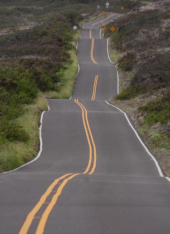 Curvas en Hana highway