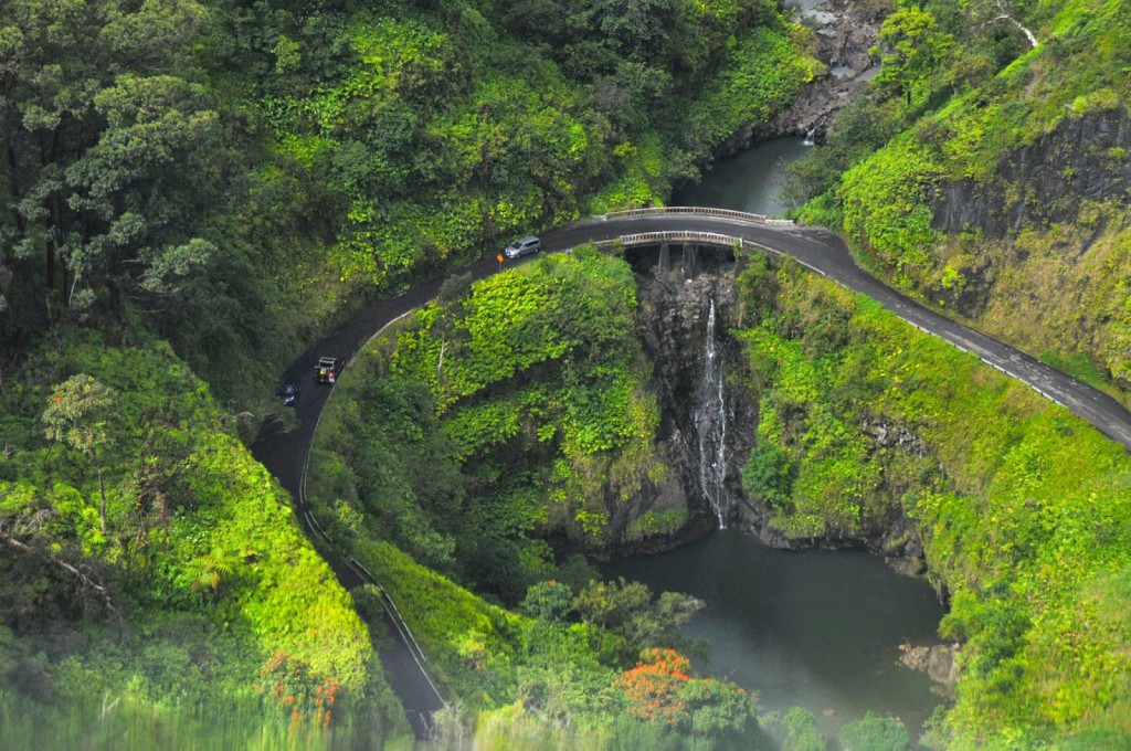 Hana highway cascadas