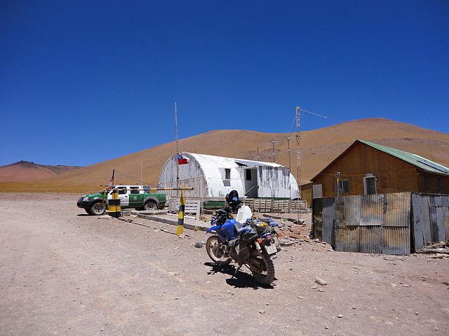 Aduana chilena en el Paso Sico