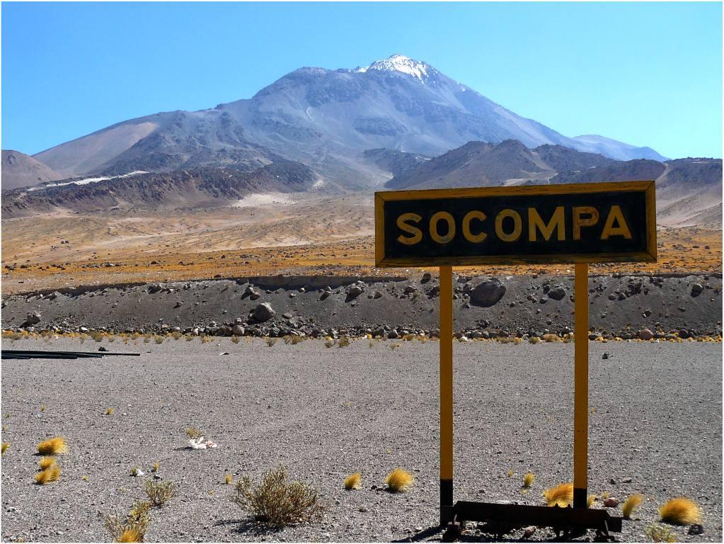 Estación de tren de Socompa