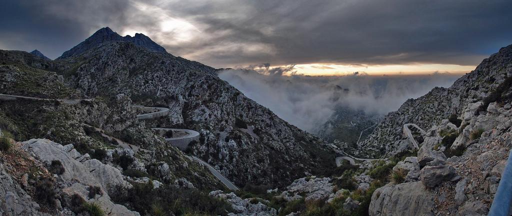 Niebla en Sa Calobra