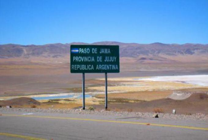 Paso internacional de Jama