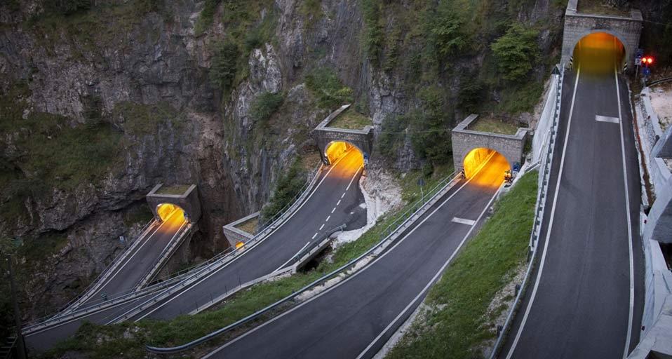 Tuneles en San Boldo
