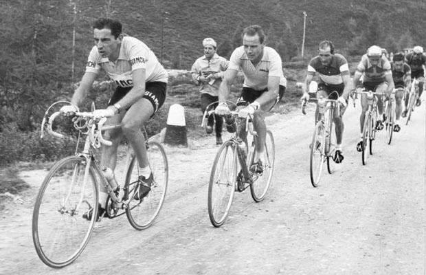 Fausto Coppi fue el primero en ganar en el Paso Stelvio