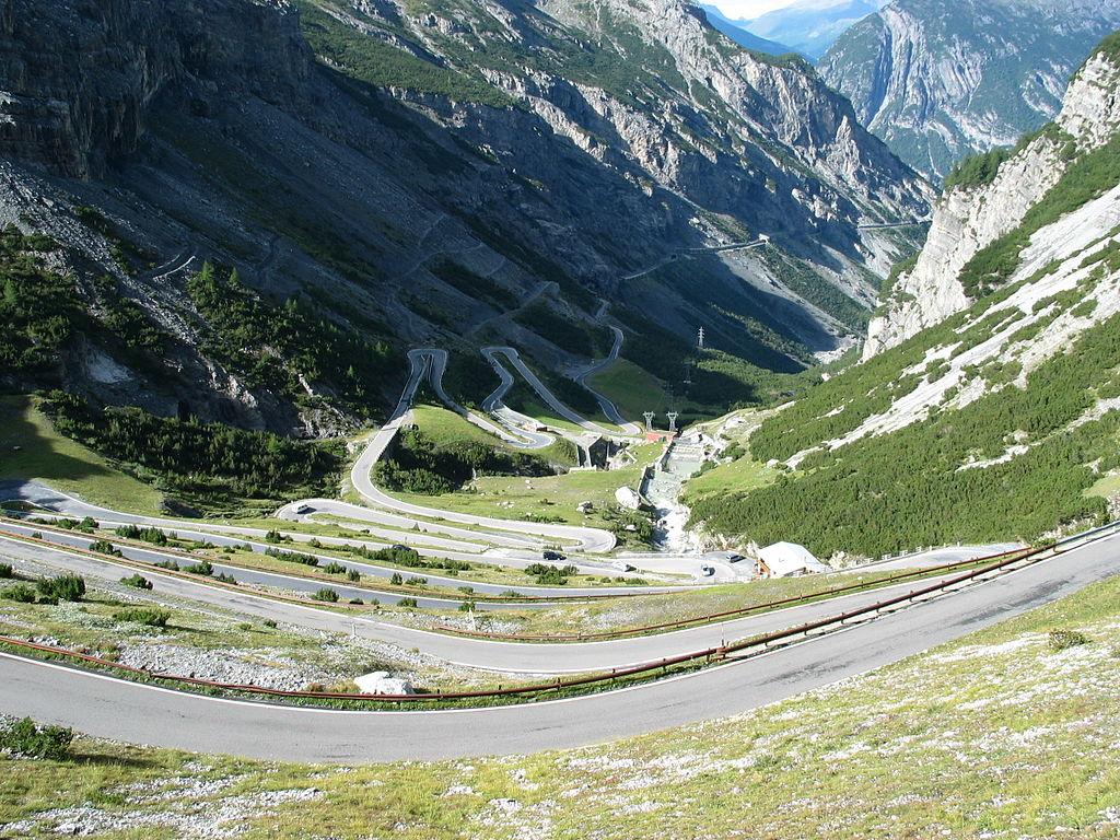 Paso Stelvio, Italia - Carreteras Peligrosas