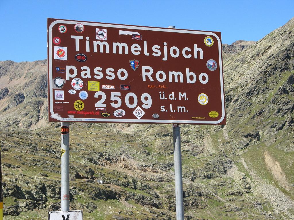 Timmelsjoch Passo Rombo