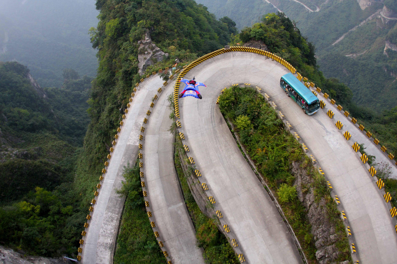 Otra vista aérea de la montaña