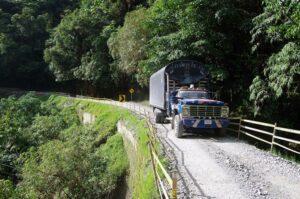 El trampolin de la muerte, Colombia
