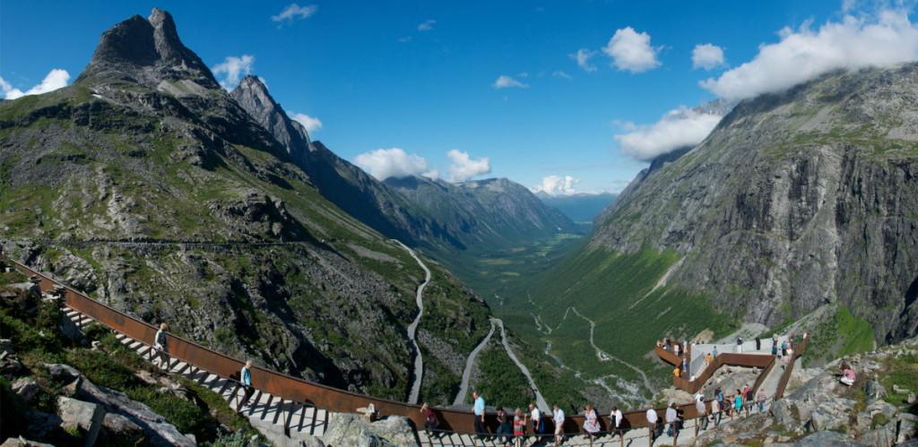 Trollstigen, centro de visitantes