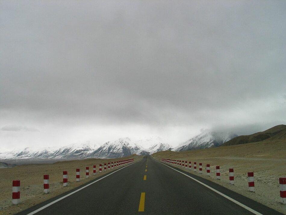 Niebla cerca del Khunjerab Pass