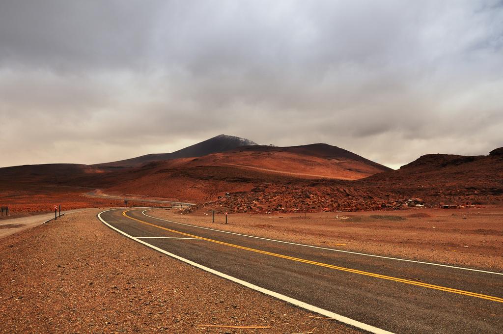 Espectacular paisaje desértico en el Paso de Jama