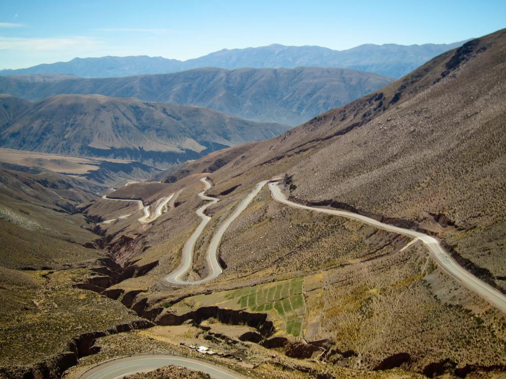 Cuesta de Lipán, a unos 220 kilómetros del Paso de Jama