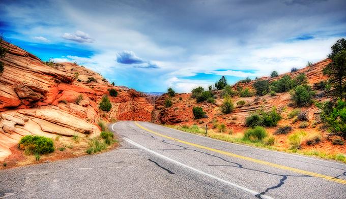 Ruta 12 Utah, foto de Wolfgang Staudt