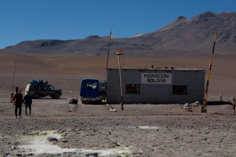Fronteras Chile Bolivia paso Portezuelo Chaxas