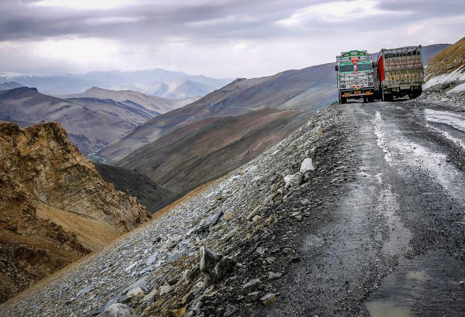 Carretera de Leh a Manali