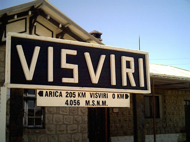 Estación fronteriza de Visvirí
