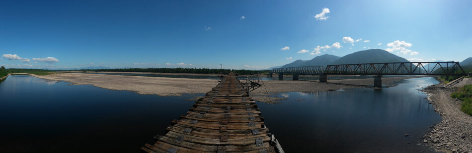 Panorámica del puente Kuadinsky
