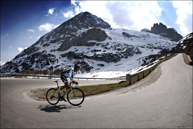 Contador en el Monte Crostis