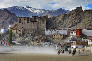 Impresionante imagen de la ciudad de Leh