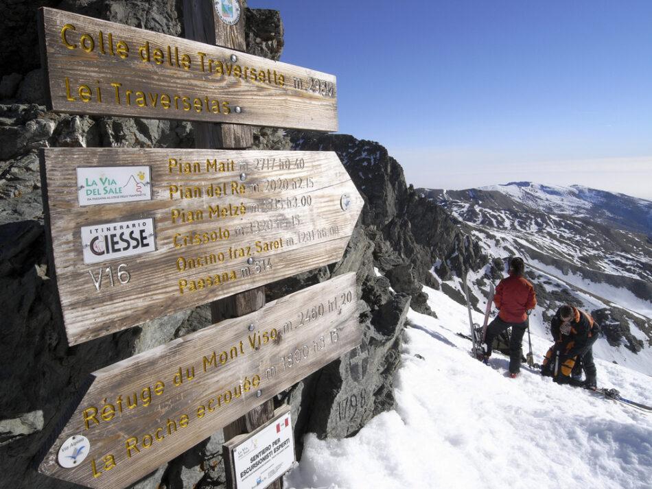 Cima nevada del Col de Traversette
