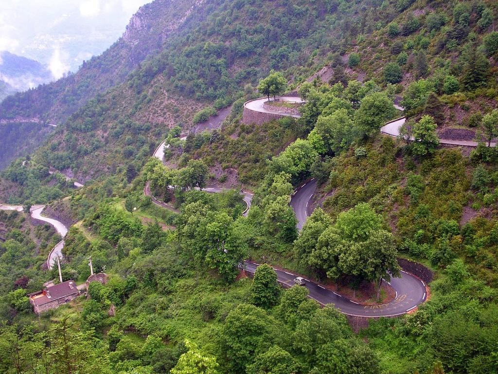 Col de Turini, foto aérea