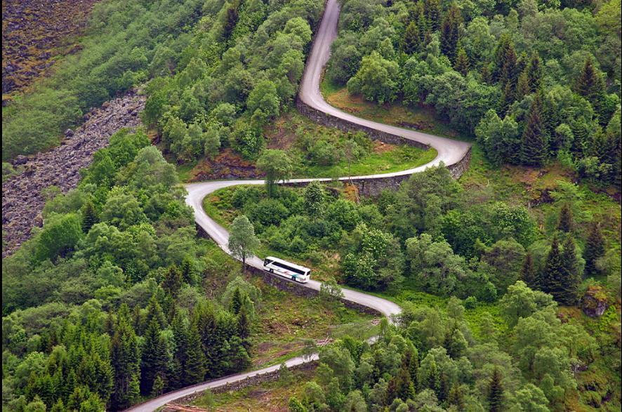 Stalheimskleiva, foto de Svein Ulvund