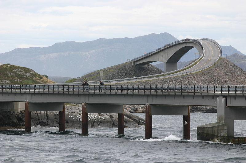 Carretera del Atlantico, Atlanterhavsveien, Noruega