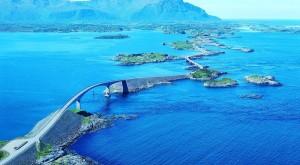 Carretera del Atlántico, Atlanterhavsveien, Noruega