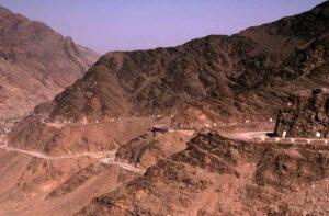 Curvas en el paso Jaiber