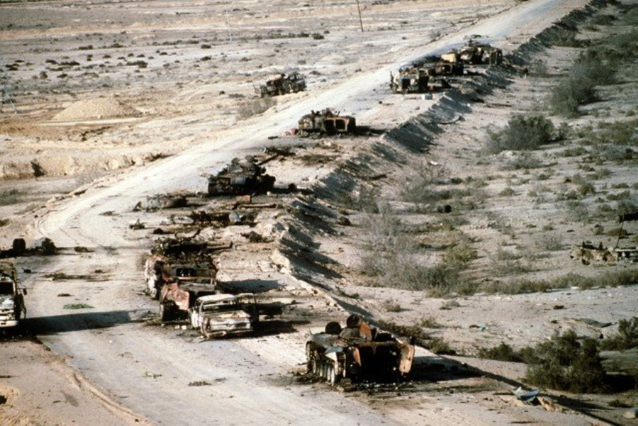 Autopista de la muerte, Irak