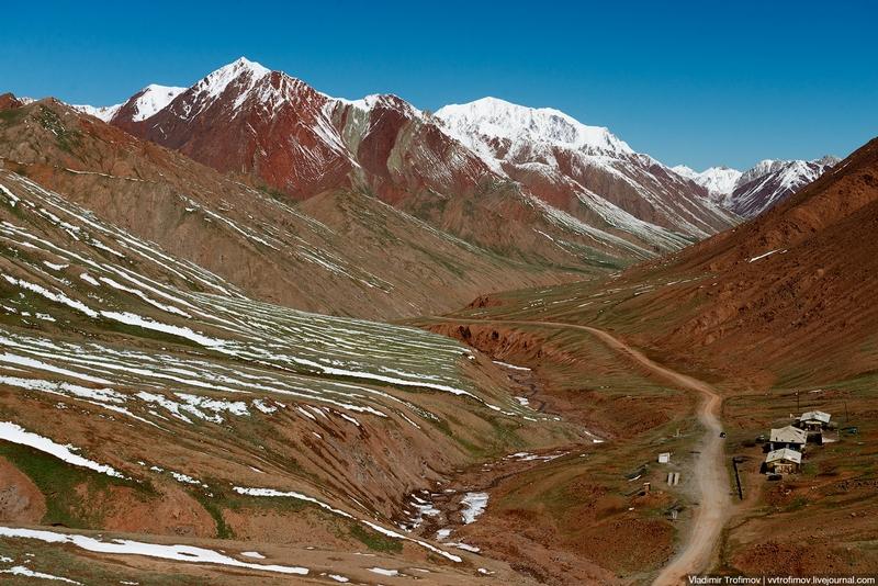 Camino al Kyzyl-Art Pass, Tayikistán y Kirguistán