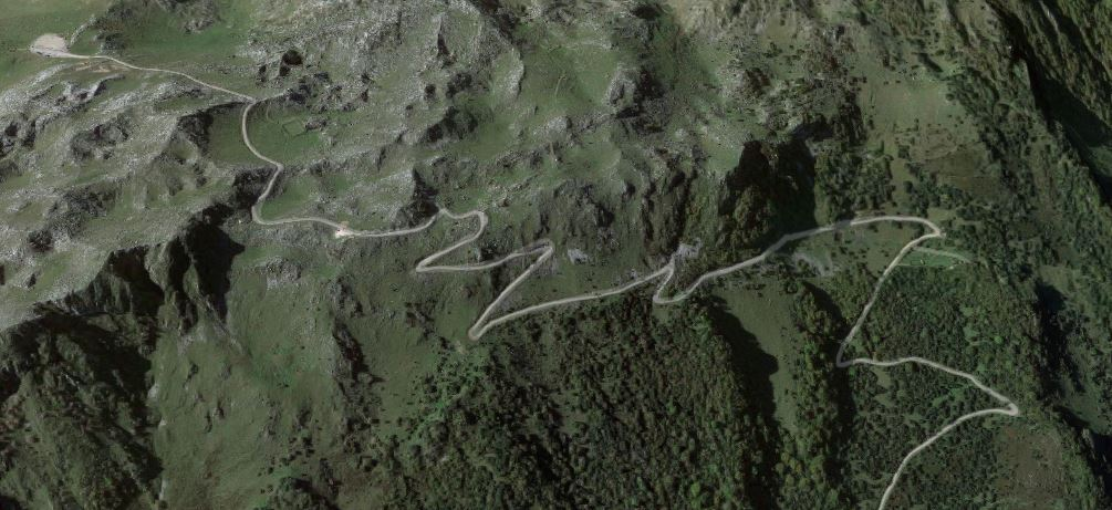Últimos kilómetros de El Anglirú