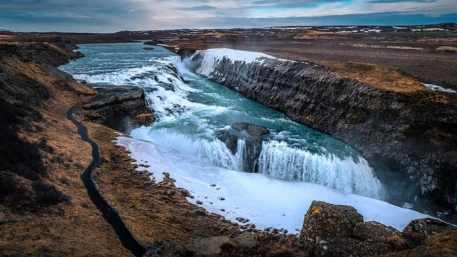 Cascada de Gullfoss