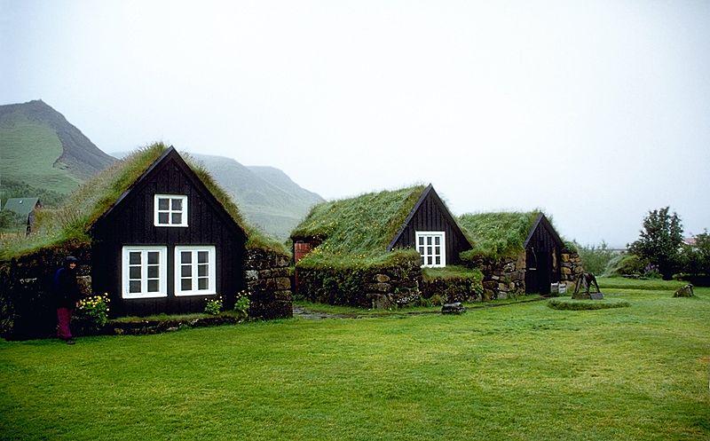 Arquitectura islandesa en el Museo Skogar