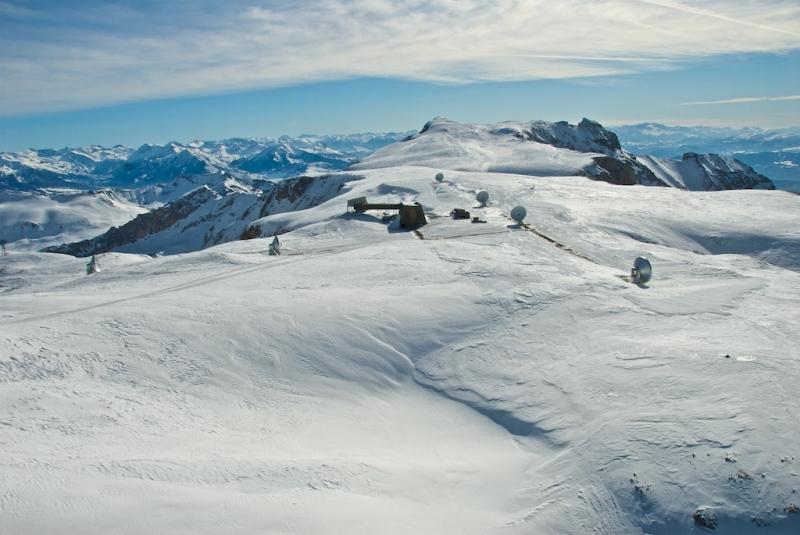 Observatorio IRAM en el Pico Veleta