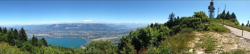 Panoramámica desde el Mont du Chat, Foto de Mathias 73