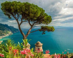 Vistas desde la Villa Rufolo, Ravello