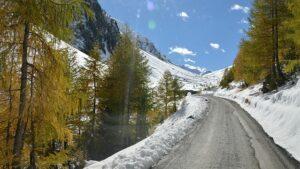 Comenzando la subida al Umbrail Pass desde Santa Maria Va Müstair