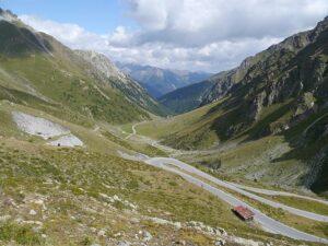 Curvas en el Umbrail Pass