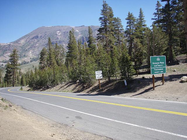 En lo alto del Sonora Pass