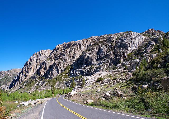 Llegando a lo alto de Sonora Pass