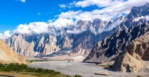 Montaña Tupopdan, en Pakistán, paso importante del la Ruta de la Seda